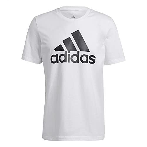 adidas Herren Shirt M Bl Sj T, Weiß/Schwarz, GK9121, Gr. XXL
