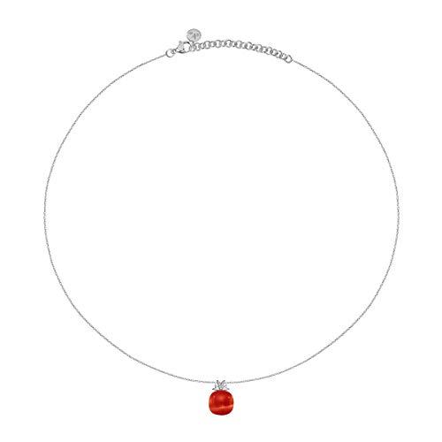 Morellato Collana da donna, Collezione Gemma, in argento, pietra cat eye - SAKK108
