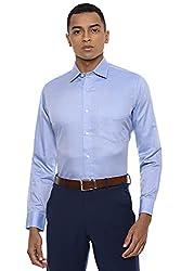 Van Heusen Mens Solid Slim Fit Formal Shirt