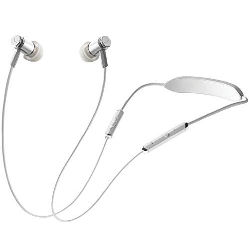 V-MODA Auriculares intraaurales, Forza Metallo Wireless, color Blanco...