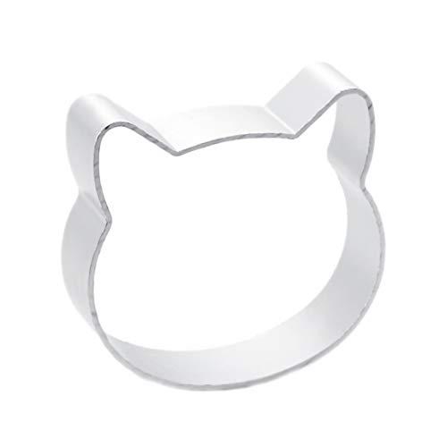 CY Buity Aluminiumlegierung-Katze, Fondant Cake Sugarcraft Ausstecher Ausstechkompatibel mitm