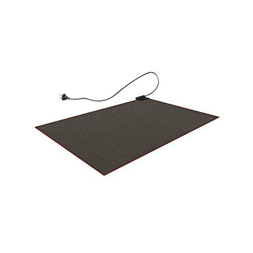 Teppichunterlage als Fußbodenheizung 100x140cm klein 230V Teppich mit elektrischer Heizung | warmer Boden warme Füße | Unterteppichheizung