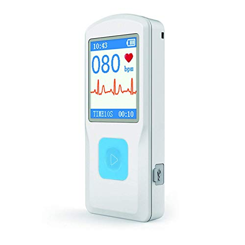 3175UdfM9mL - HEALTHWOOD Portable ECG/EKG Monitor Heart