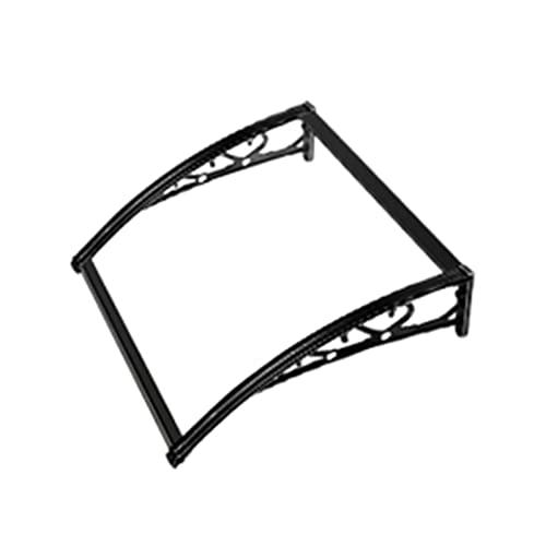 Lw Shelf Tejadillo de protección,marquesina para Puertas Ventanas toldo,toldo Transparente de la Entrada del toldo de la Puerta del policarbonato de la PC (Size : 120x100cm)