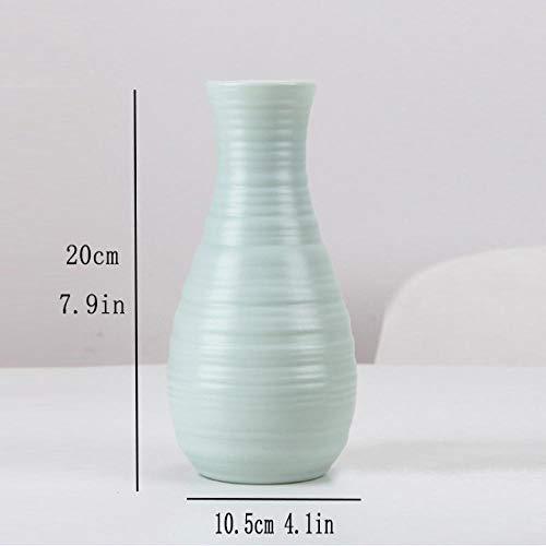 NA vaas moderne en eenvoudige plastic vazen in Noord-Europa woonkamer decoratieve porseleinen vazen voor het huishouden