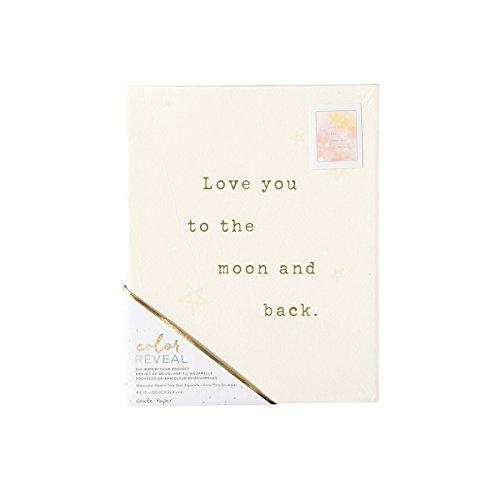 American Crafts Caisse Papier Aquarelle Panneau Couleur Reveal 20,3 x 25,4 cm Amour Vous Aussi, 7.99-x-10-inch