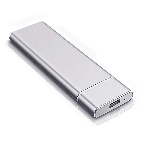 Portable 2TB External Hard Drive, Slim Hard Drive External Data Storage Hard Drive-USB3.0 HDD for Mac,PC and Laptop