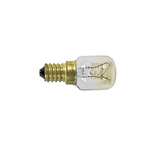Bosch Siemens 170218 00170218 ORIGINAL Lampe Gewindesockellampe Glühbirne Schraubgewindelampe E14 25W Kühlschrank Gefrierschrank Kühlautomat auch Constructa Neff Balay