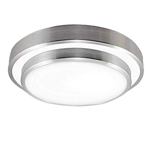Natsen 12W Deckenleuchte LED Deckenlampe Warmweiß 3000K Küchenlampe Flurlampe mondern Lampe für Wohnzimmer Schlafzimmer Büro Diele (23 x 23 x 7.5 cm)