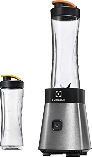 Electrolux ESB2500 Sportsblender Mini Frullatore, Funzione Frappè, 23.000 Giri/min, Acciaio, 300 W, 0.6 Litri, Plastica, argento