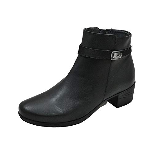 Fluchos Charis F0937 Sugar Black Ankle Boots