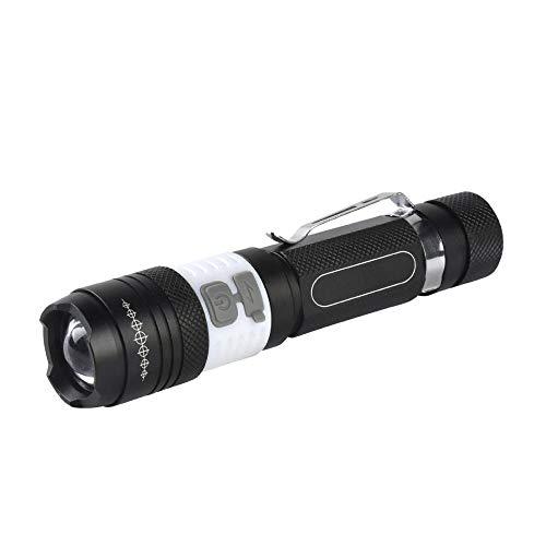 Topashe Mini portátil,Linterna con Zoom Giratorio, Linterna COB multifunción,Carga USB portátil de...