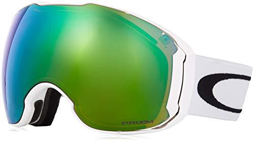 Herren Schneebrille Oakley Airbrake Xl Polished White Goggle
