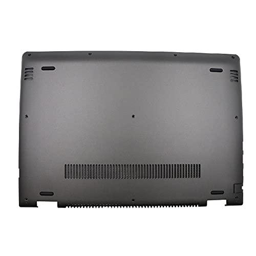 RTDpart Estuche Inferior para computadora portátil para Lenovo Yoga 510-14ISK 510-14IKB 510-14AST Flex 4-1470 4-1435 4-1480 5CB0L45970 Cubierta de la Base Estuche Inferior Nuevo