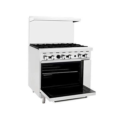 6 burner commercial gas stove - 2
