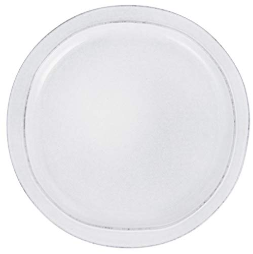 IB Laursen - Grey Dunes - Essteller, Teller, Speiseteller - Steingut - Maße (ØxH): 28 x 3 cm