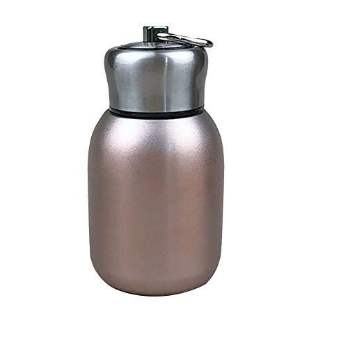 Vasos de agua de 300 ml, botellas de agua de viaje de acero inoxidable, mini café vino, taza al vacío, botella de bebida, vaso de agua