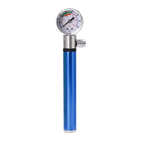 ciriQQ Horquilla de suspensión compacta de alta presión para bicicleta MTB y bomba de choque trasera 210 psi