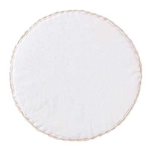 #N/A Maorniessy - Mantel individual antideslizante para mesa de comedor (25 cm)