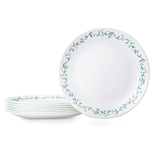 Corelle Chip Resistant Dinner Plates, 8-Piece, Country Cottage