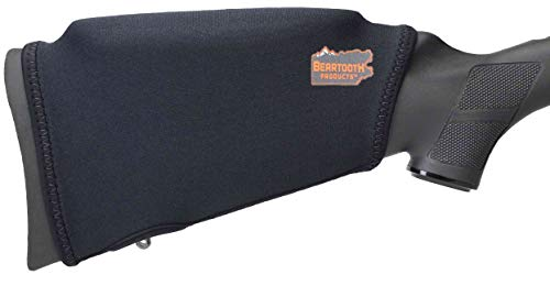 Beartooth Comb Raising Kit 2.0 - Premium Neoprene Gun Stock Cover + (5) Hi-Density Foam Inserts - NO Loops Model (Black)