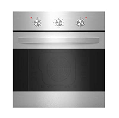 """Empava 24"""" Stainless Steel 6 Cooking Functions Electric Built-in Convection Single Wall Oven EMPV-B14LTL"""