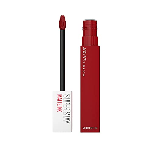Maybelline New York SuperStay Matte Ink Liquid Lipstick, Spiced Edition, Exhilarator, 0.17 Ounce