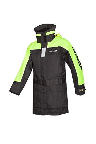 Mullion X5000 Jacke oder Hose ALS Schwimmanzug, Größen XS-4XL, Jacke und Hose einzeln erhältlich, Farbe Schwarz-Gelb, atmungsaktiv (Jacke, Größe XL)
