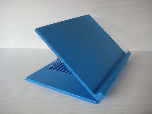 Book Holder, Slant Board, Laptop Holder, Right Angle Holder, Document Holder (pro Blue)