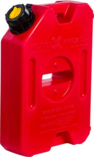 RotopaX Red 1 Gallon Gasoline Pack 14 x 10 x 4 RX-1G - Cal