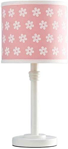 Leeslamp bedlampje tafellamp tafellamp tafellamp tafellamp beste bloem tafellamp klein meisje slaapkamer bedlampje kinderkamer warm leuke prinses creatief cartoon roze