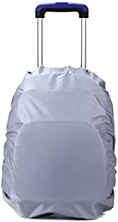 Backpack 35 Liter Rain Cover for Bags(Blue) (Color : Silver)