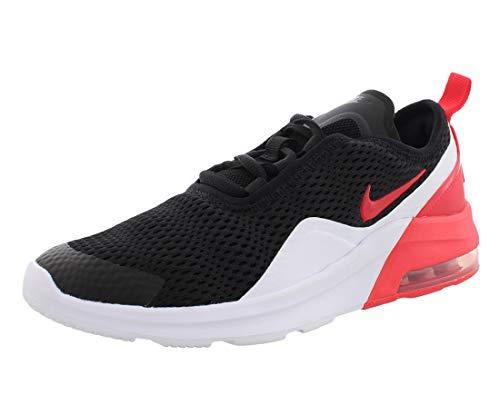 Nike Air Max Motion 2 (GS), Chaussures d'Athlétisme garçon, Multicolore (BlackRed OrbitWhite 000), 38 EU