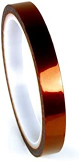3M Polyimide Film Electrical Tape 1205, Amber, Acrylic Adhesive, 1 mil film, 7/8 in x 36 yd, 11 per case