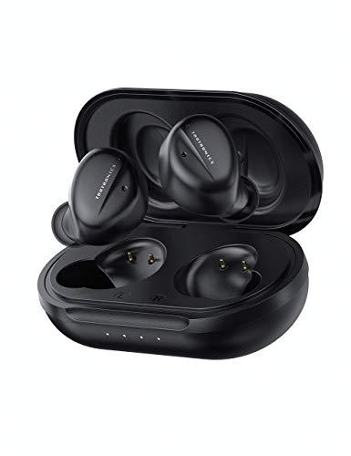 ワイヤレス イヤホン TaoTronics 完全ワイヤレス Bluetooth 5.1 【ハイブリッドアクティブノイズキャンセリングANC /最大24時間連続再生】高音質 片耳/両耳 自動ペアリング Siri対応 AAC対応 最新MCSync技術対応 外音取り込む機能 SoundLiberty 94 (ブラック)