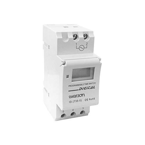 LEDKIA LIGHTING Interruptor Digital-Semanal Modular