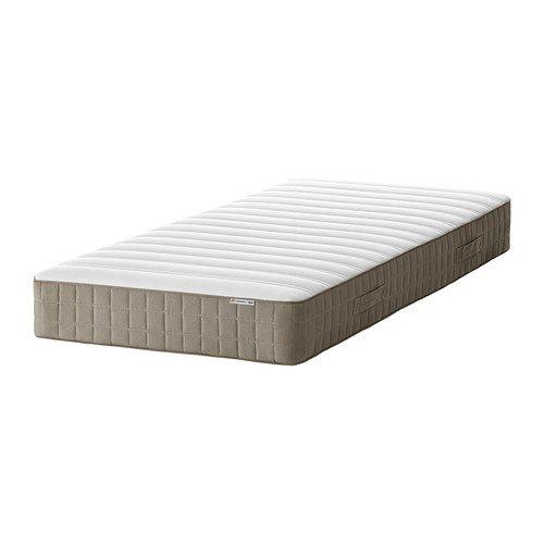 Ikea HAMARVIK - Matelas à Ressorts, moyennement Ferme, Beige foncé - 90x200 cm