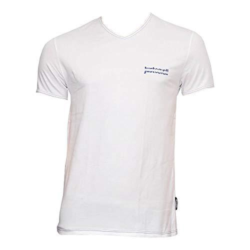 Just Cavalli - Camiseta - Manga corta - para hombre Blanco blanco