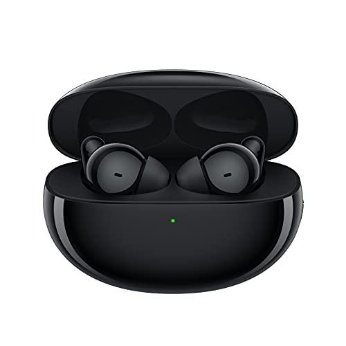 OPPO Enco Free 2 - Auriculares inálambricos (Cancelación de Ruido 42 dB, Bluetooth 5.2, Batería 41 mAh, hasta 30 Horas de duración, Dynaudio, Resitencia al Agua ypolvo IP54) Negro