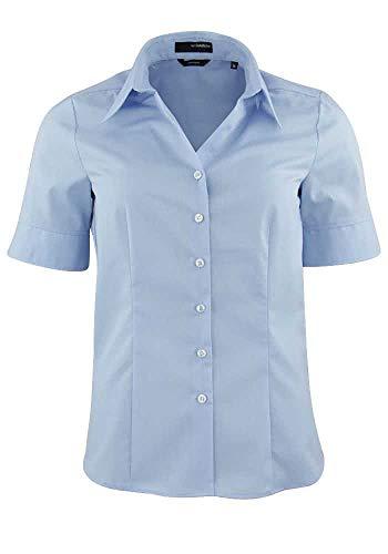 Seidensticker Damen Bluse , Blau (12), 38