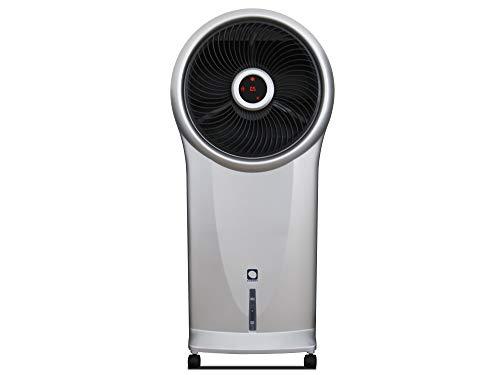 M Confort E800 Climatizador Evaporativo Portátil, 110 Watts, 5.5 L, 3 Velocidades, Ventilador Centrífugo, 90 x 39 x 21 cm