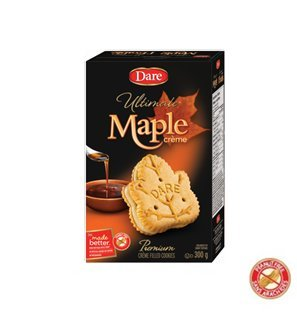 Dare Ultimate Maple Creme Cookies 300g from Canada