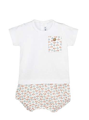 CALAMARO - Conjunto Camiseta y pololo bebé-niños