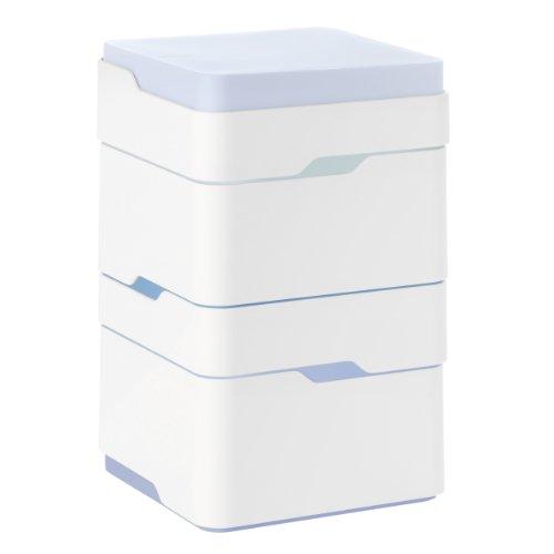 Boîte à Bijoux Stelton Add on, Rangement Boîtes Empilables pour Accessoires Designer, 218
