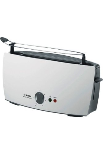 Bosch TAT6001 - Tostador, 900 W, color blanco