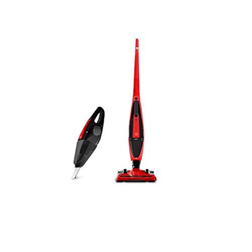 Z&LEI Aspirador doméstico, colector de Polvo Recargable de 3 en 1, Aspirador Vertical, Adecuado para el hogar y el automóvil,Rojo