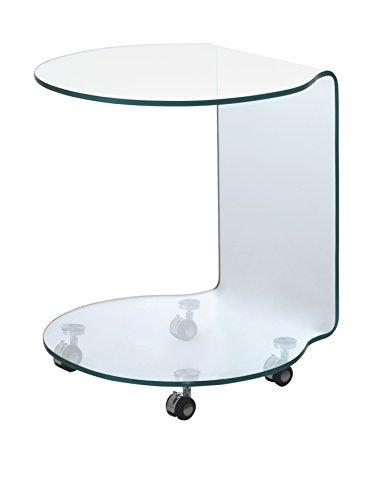 Wink Design Milano Tavolino, Trasparente, 50 x 50 x 50 cm