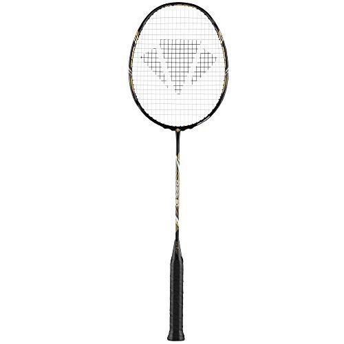 Carlton Badmintonschläger Kinesis 80 bespannt mit Hülle