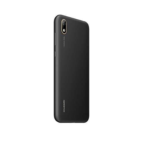 Huawei, Y5 2019, Smartphone Débloqué, 4G, (5, 71 Pouces, 16Go, 'Double Nano SIM + MicroSD', Android 9.0) Midnight Noir [Version Française]