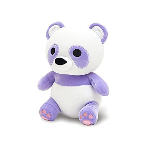 Avocatt Purple Panda Plush Toy - 10 Inches Stuffed Animal Plushie - Plushy Panda Teddy Bear with Soft Fabric and Stuffing - Cute Toy Gift for Boys and Girls